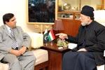 جہانگیر بدر کی شیخ الاسلام ڈاکٹر محمد طاہرالقادری سے ملاقات