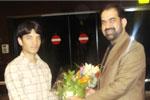 ڈاکٹر رحیق احمد عباسی کا بارسلونا پہنچنے پر شاندار استقبال