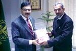 Principal Secretary to Shaykh-ul-Islam Dr Muhammad Tahir-ul-Qadri visits President Chamber of Commerce Lahore
