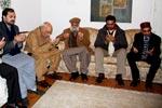 جسٹس (ر) خلیل الرحمٰن رمدے سے ان کی اہلیہ کی وفات پر تعزیت
