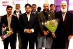 Hussain Mohi-ud-Din Qadri reaches England
