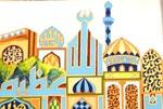 منہاج القرآن لندن سنٹر میں بچوں کی طرف سے بنائی گئی تصاویر کی نمائش