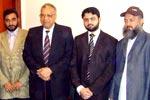 صاحبزادہ حسن محی الدین قادری کی جامعہ الازھر کے سابق وائس چانسلر سے ملاقات
