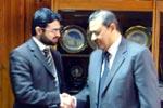 يلتقي صاحبزادة حسن محي الدين القادري مع رئيس الجامعة الأزهر