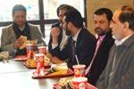 منہاج القرآن انٹرنیشنل پیرس کا جہانگیر بدر اور پی جے میر کے اعزاز میں ظہرانہ