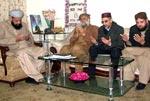 خواجہ غلام قطب الدین فریدی سے ان کے بڑے بھائی کی وفات پر اظہار تعزیت