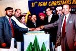 گاسپل مشن پاکستان کے سالانہ کرسمس پروگرام میں منہاج القرآن انٹرنیشنل کے وفد کی خصوصی شرکت