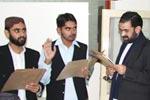 بزم منہاج اور منہاج سپورٹس کے نومنتخب عہدیداروں کی تقریب حلف برداری