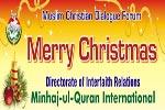 Minhaj-ul-Quran International wishes Christian community a Happy Christmas