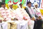 منہاج ویلفیئر فاؤنڈیشن اور دار الاحسان ویلفیئر سوسائٹی کے تحت خانقاہ ڈوگراں ميں 11 شادیوں کی اجتماعي تقریب