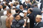 منہاج القرآن فرانس کے زیر اہتمام نماز عید الاضحی کا اجتماع