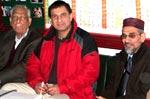 Vice Chancellor MUL Dr. Ali Muhammad and Mr. Muhammad Azhar Ali (USA) Visited Central Secretariat