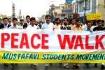 MSM holds Peace walk