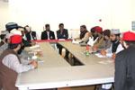 MQI (NEC) UK & MSF hold Meeting with Nazim-e-A'ala Dr Raheeq Ahmed Abbasi