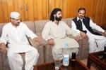 نواب شاہ زین بگٹی کی تحریک منہاج القرآن کے مرکزی سیکرٹریٹ آمد