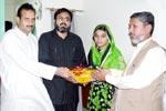 طالبہ کا اعزاز - فیصل آباد سیکنڈری ایجوکیشن بورڈ میں پہلی پوزیشن