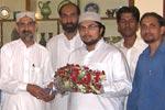 Sahibzada Hussain Mohi-ud-Din Qadri Meets with DFA-Staff