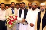 Dr Raheeq Abbasi returns from foreign tour