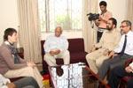 The First Secretary, Embassy of Germany visits Minhaj University Lahore