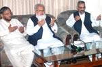 تحریک منہاج القرآن کے قائدین کا جماعت اسلامی کے مرکزی رہنماؤں سے اظہار تعزیت