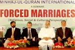 منہاج مصالحتی کونسل اور منہاج القرآن ویمن لیگ کے زیراہتمام جبری شادیوں کے خلاف سیمینار