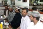 صاحبزادہ حسن محی الدین قادری کے اعزاز میں عشائیہ