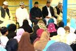Sahibzada Hassan Mohi-ud-Din Qadri holds meeting with Women League (France)