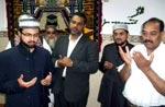 صاحبزادہ حسن محی الدین قادری کا منہاج اسلامک سنٹر بادالونا کا دورہ