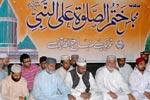 ماہانہ مجلس ختم الصلوۃ علی النبی اور شب معراج النبی (ص) کا روحانی اجتماع (جولائی 2010ء)