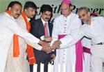 Interfaith prayer for peace held