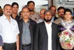 Scholar Hafiz Tariq Ali reaches Berlin