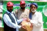 منہاج ويلفیئر فاونڈيشن کے قائدين کا سندھ اور بلوچستان کا امدادی دورہ