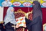 منہاج ویمن لیگ کے زیراہتمام سیدہ کائنات کانفرنس 2010ء اور عرفان القرآن کورس کی اختتامی تقریب