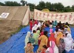 منہاج خیمہ بستی اکوڑہ خٹک میں سحری اور افطاری کا خصوصی پروگرام