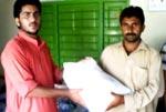 منہاج القرآن یوتھ لیگ سیالکوٹ کی سیلاب زدگان کے لئے امدادی سامان کی روانگی