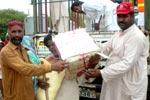 تحریک منہاج القرآن تحصیل ڈسکہ کے تحت چک روڑی (مظفرگڑھ) میں سیلاب سے متاثرہ لوگوں کیلئے عید کیمپ