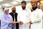 تقریب تقسیم اسناد عرفان القرآن کورس نشتر ٹاؤن لاہور
