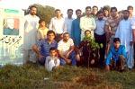 منہاج القرآن یوتھ لیگ اسلام آباد کی شجرکاری مہم