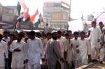 منہاج القرآن اور سنی رابطہ کونسل کے زیراہتمام احتجاجی ریلی