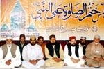 ماہانہ مجلس ختم الصلوۃ علی النبی صلی اللہ علیہ وآلہ وسلم (نومبر 2010ء)