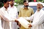 منہاج القرآن گجرات کی سیلاب زدگان کے لیے امدادی سرگرمیاں
