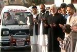 فیصل آباد میں ایمبولینس سروس کا آغاز