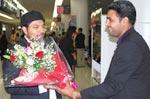 صاحبزادہ حسین محی الدین قادری کا جاپان پہنچنے پر عظیم الشان استقبال