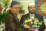 صاحبزادہ حسین محی الدین قادری کا اباراکی میں مسلم کمیونٹی سے خطاب
