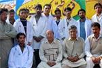 یونیورسٹی آف آزاد جموں و کشمیر راولا کوٹ کیمپس میں MSM کے زیراہتمام پہلا فری طبی کیمپ برائے حیوانات