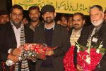 ناظم اعلیٰ ڈاکٹر رحیق احمد عباسی وطن واپس پہنچ گئے