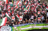 تحریک منہاج القرآن لاہور، راولپنڈی اور گوجرانوالہ کے میلاد مارچ میں ہزاروں افراد کی شرکت