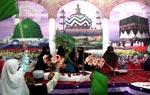 منہاج القرآن ویمن لیگ یونین کونسل نمبر 7 لیاری کراچی کے زیراہتمام میلاد مصطفٰی (ص) کانفرنس