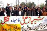 Minhaj-ul-Quran International holds demonstration to protest the killing of Shahbaz Bhatti