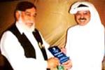 تصویری جھلکیاں: ڈاکٹر خواجہ محمد اشرف کی طرف سے مختلف شخصیات کو دہشت گردی کے خلاف فتویٰ کا تحفہ